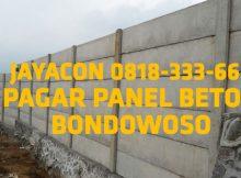pagar beton bondowoso