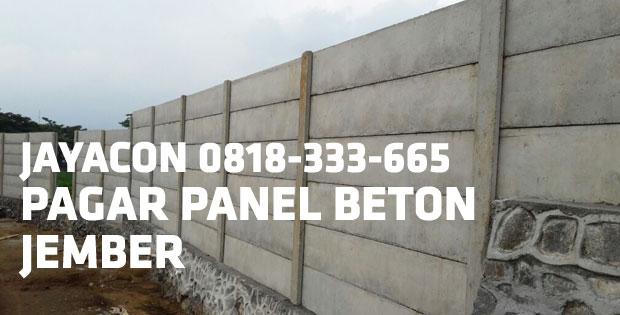 pagar beton jember