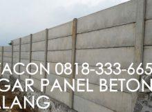pagar beton malang
