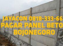 pagar beton bojonegoro
