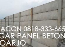 pagar panel beton sidoarjo